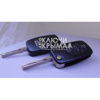 Замена Выкидного Ключа для Audi (Обновление,Улучшение,Ремонт)